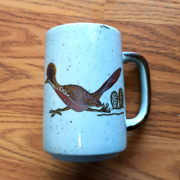 Vintage Roadrunner Cactus Mug